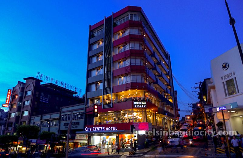 City Center Hotel At Session Road Baguio Philippines
