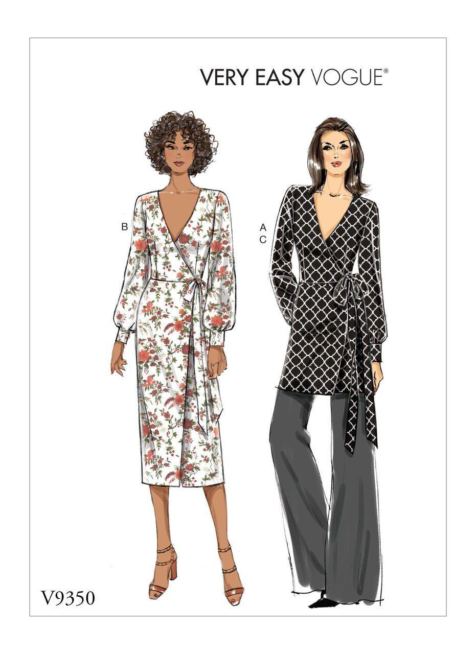Pattern Roundup Knit Wrap Dresses Threads Vogue Patterns Knit Wrap Dress Vogue Sewing Patterns [ 1280 x 931 Pixel ]
