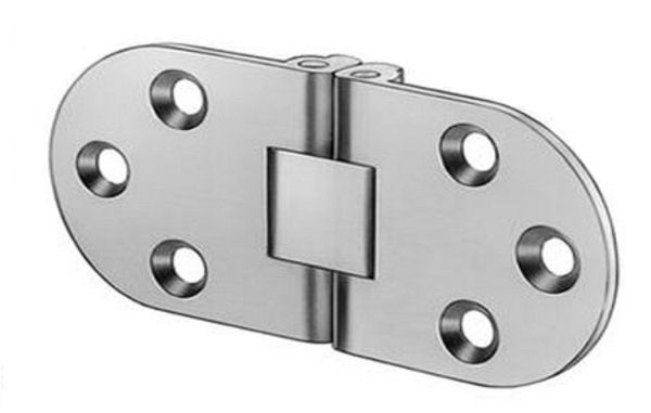 Stainless Steel Hinges Self Supporting Folding Table Hinge Flush Mounted