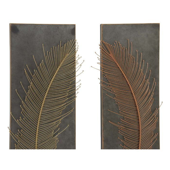 Metal Wall Decor Set is part of Metal Home Accessories Living Rooms - You'll love the Metal Wall Decor Set at Birch Lane  With Great Deals on all products and Free Shipping on most stuff, even the big stuff