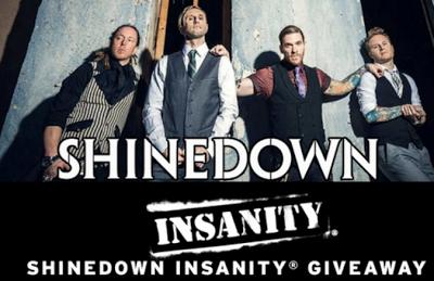 Shinedowns Nation: Shinedown Insanity giveaway!
