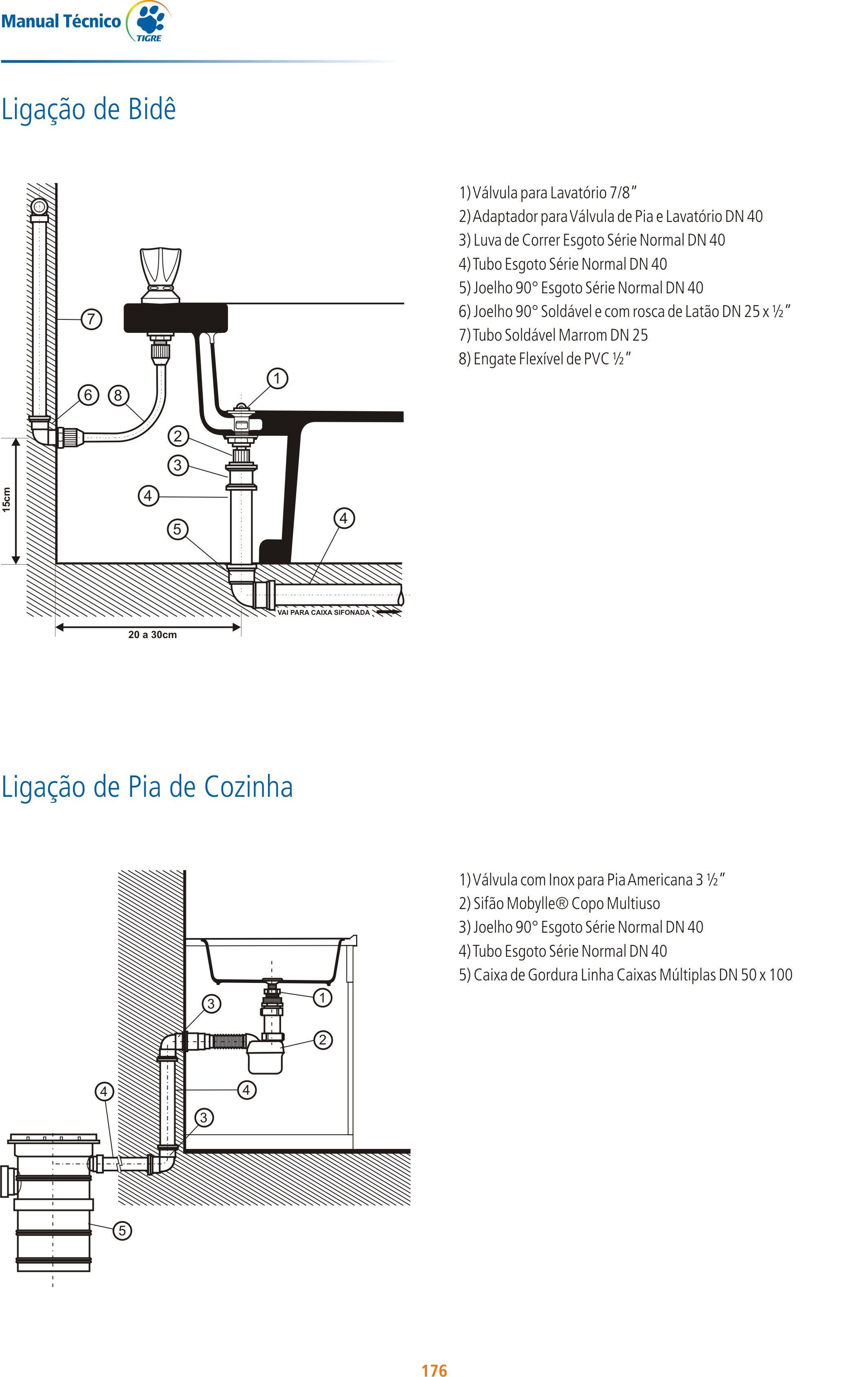 Liga O De Pia De Cozinha 1 V Lvula Com Inox Para Pia Americana 3