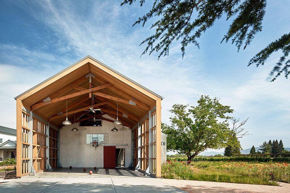 Napa Barn Arch house, Architecture, Modern farmhouse