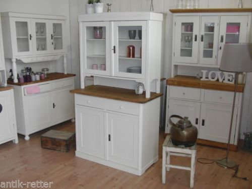 Küchenbuffet Landhaus ~ Jugendstil kuechenbuffet buffet anrichte vintage shabby landhaus