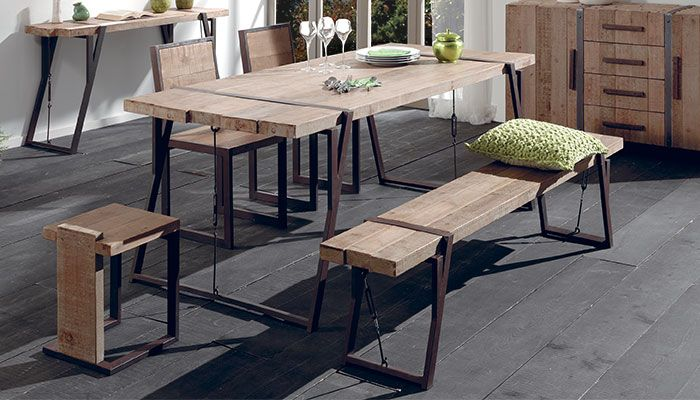 Table En Sapin Massif Collection Westmount Meuble Bois Brut Mobilier De Salon Mobilier En Bois