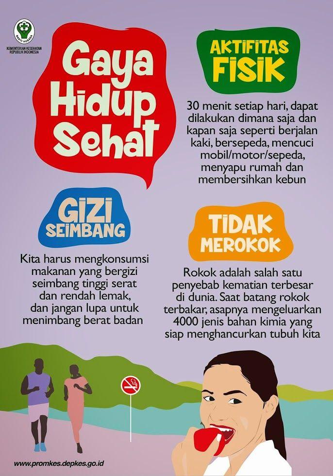 Gaya Hidup Sehat  Infografis Kesehatan  Infografis