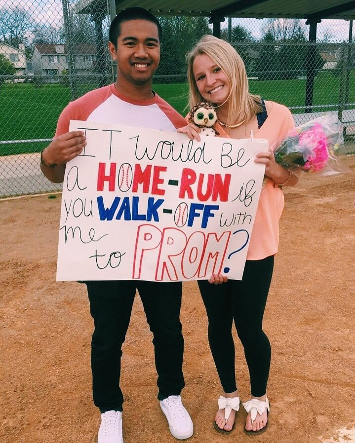 My Scavenger Hunt Promposal Owls Indiana Flowers Baseball And