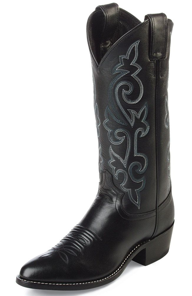 Justin Men S Classic Western Cowboy Boots Black Boots Men