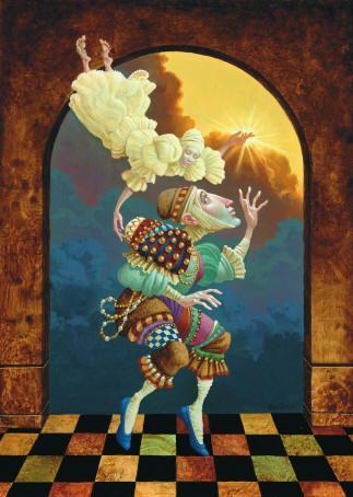 After Clouds Sun James Christensen Whimsical Art
