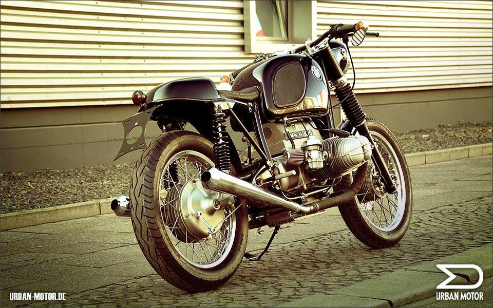 "Racing Cafè: BMW R90/6 ""Cafè Road Racer"" by Urban Motor"