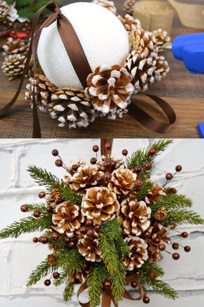 Photo of 48 Amazing DIY Pine Cone Crafts & Decorations