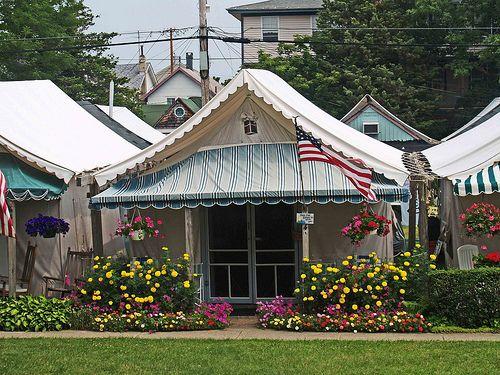 Tent City in Ocean Grove NJ & Tent City in Ocean Grove NJ | Tents Ocean and City