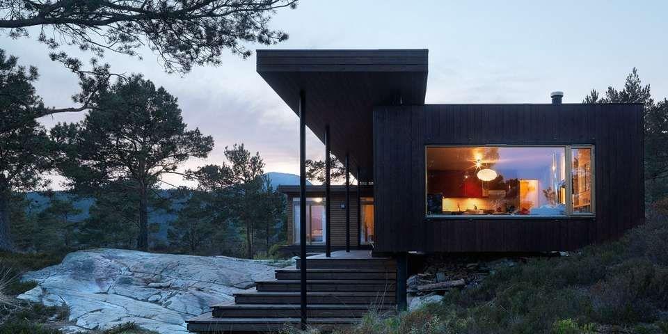 e n arkitektur NENNSOMT: Todd Saunders har bemerket seg med en arkitektur som har  e n arkitektur