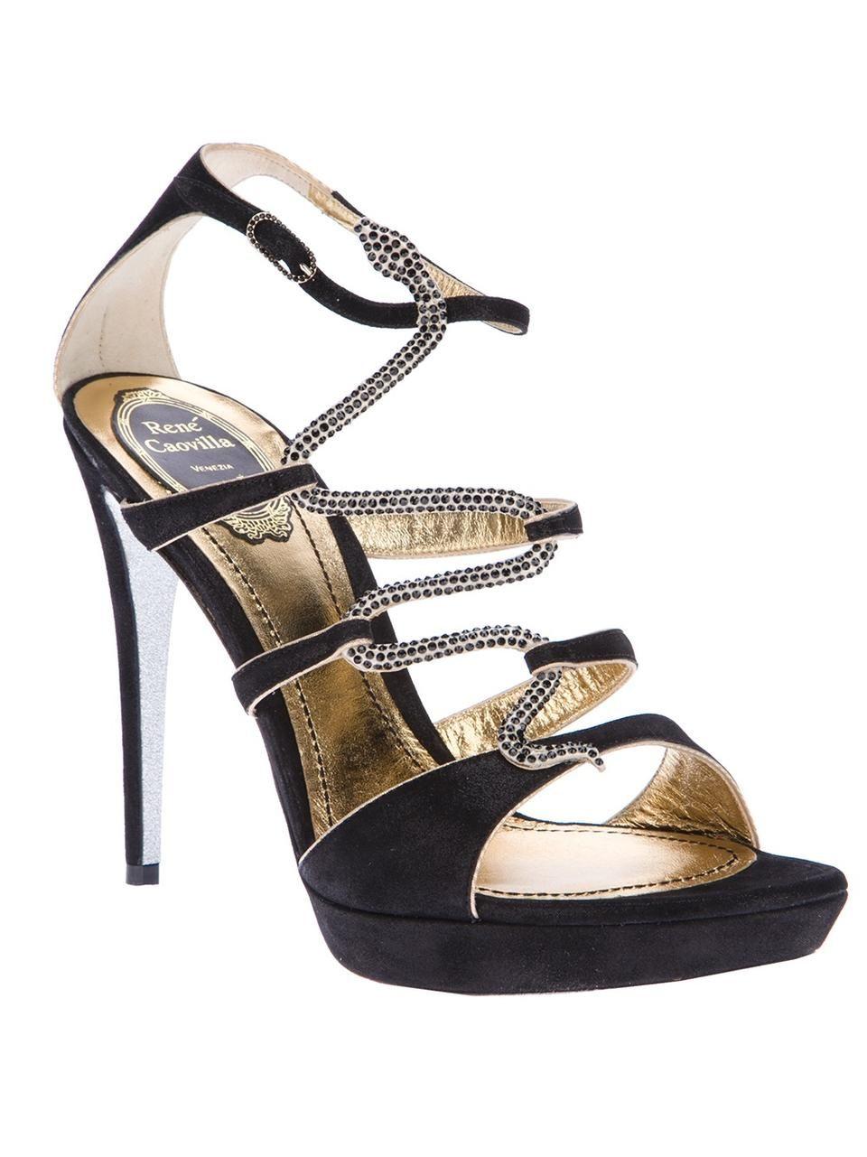 Rene Caovilla Stiletto sandal