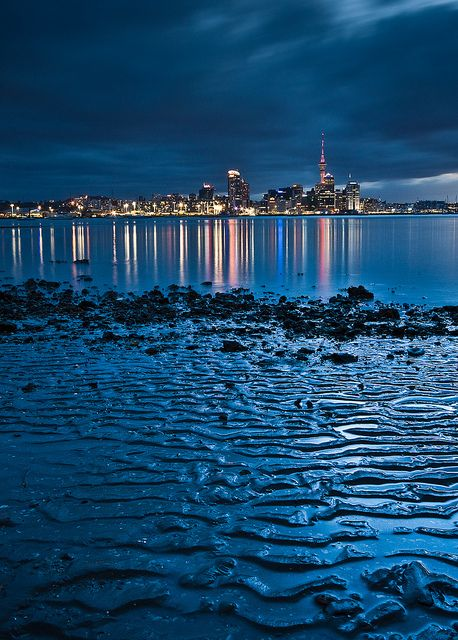 Auckland Skyline New Zealand By Jeff Pang New Zealand Travel Places To Travel Travel