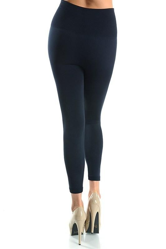Super soft, very stretchy and stylish fleece leggings... high waist sleek  tummy control legging but inside is soft and cozy fleece that keeps you  warm and ...