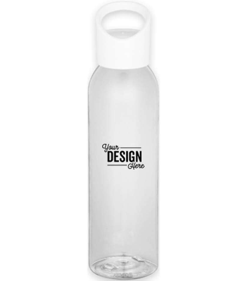 22 oz twist top tritan sports water bottle clear in