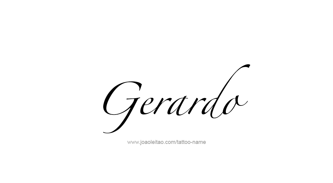low priced 9c777 2ef19 Tattoo Design Name Gerardo Nombres, Tatuajes, Diseños De Tatuaje De  Nombres, Bebé Tiburón