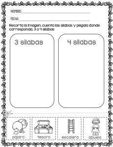 Fichas para trabajar Sílabas de manera divertida Se llama sílaba a cada una de las entidades fonéticas en las que se divide una palabra. La división silábica se realiza mediante …