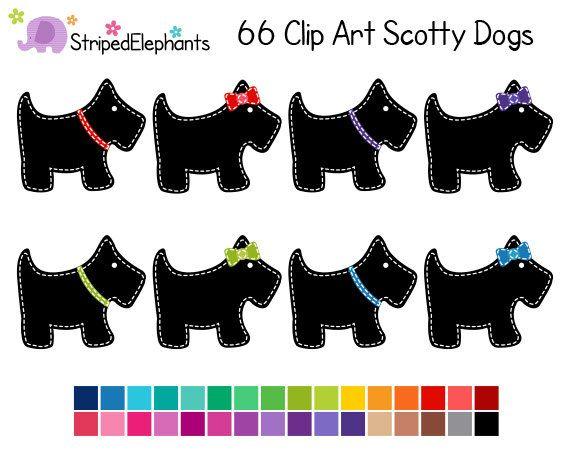 Scottie Dog Clip Art