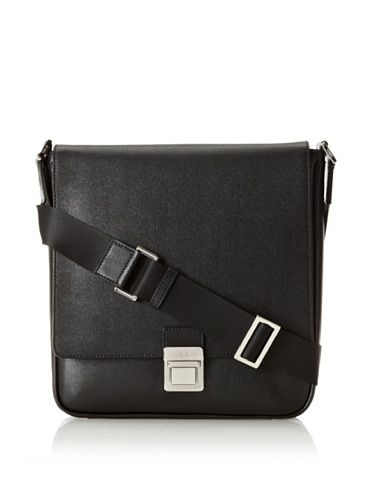 Fendi Women's Slim Messenger Bag, Black