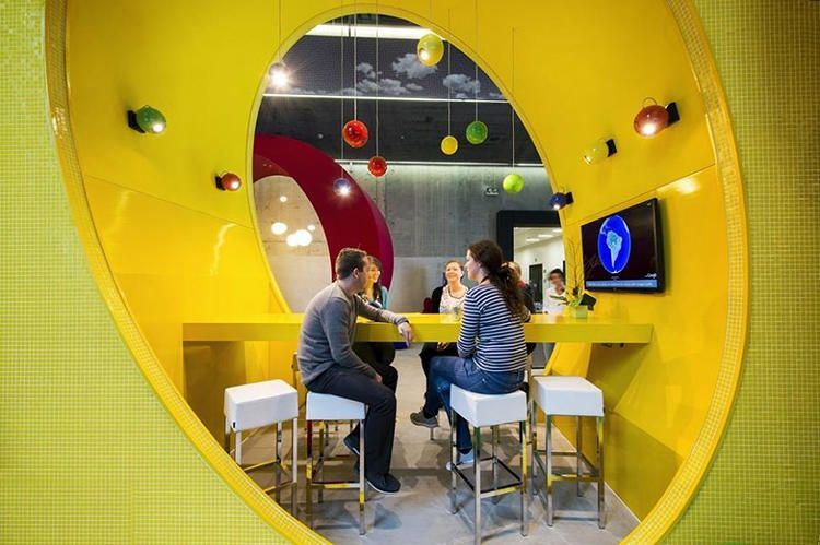 8 Of Googles Craziest Offices Business design Workplace design