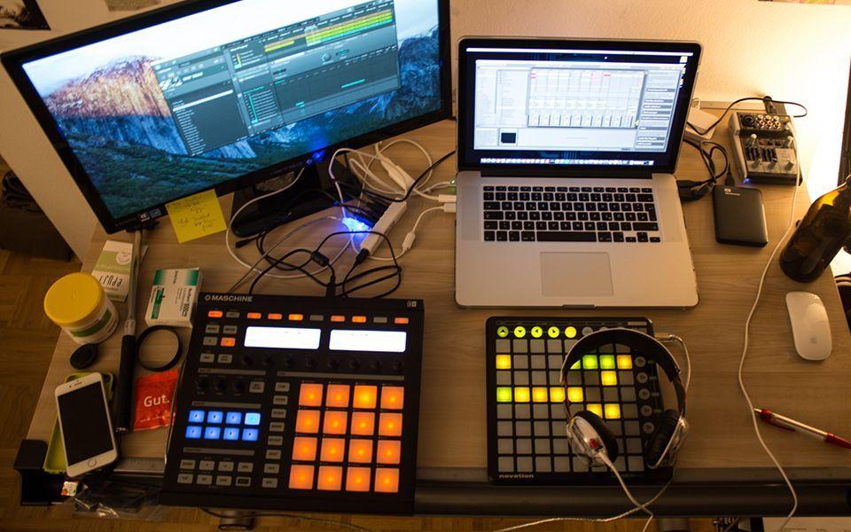 Fph simple setup home studio music recording studio