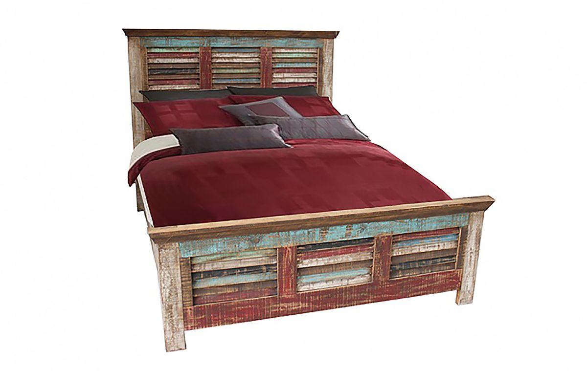 Rusticos Sierra Cabana Queen Bed Furniture Market Austin Texas