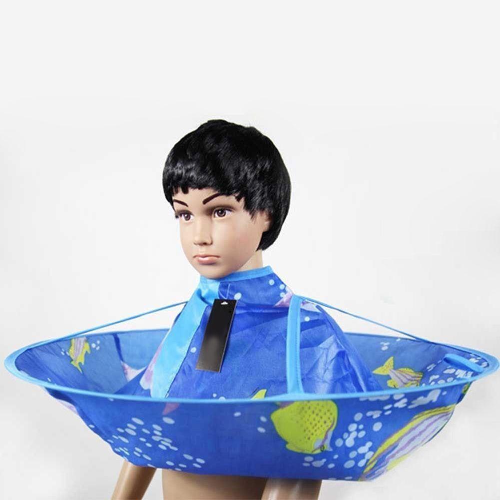 Haircut gown apron salon family kids haircut umbrella hairdresser