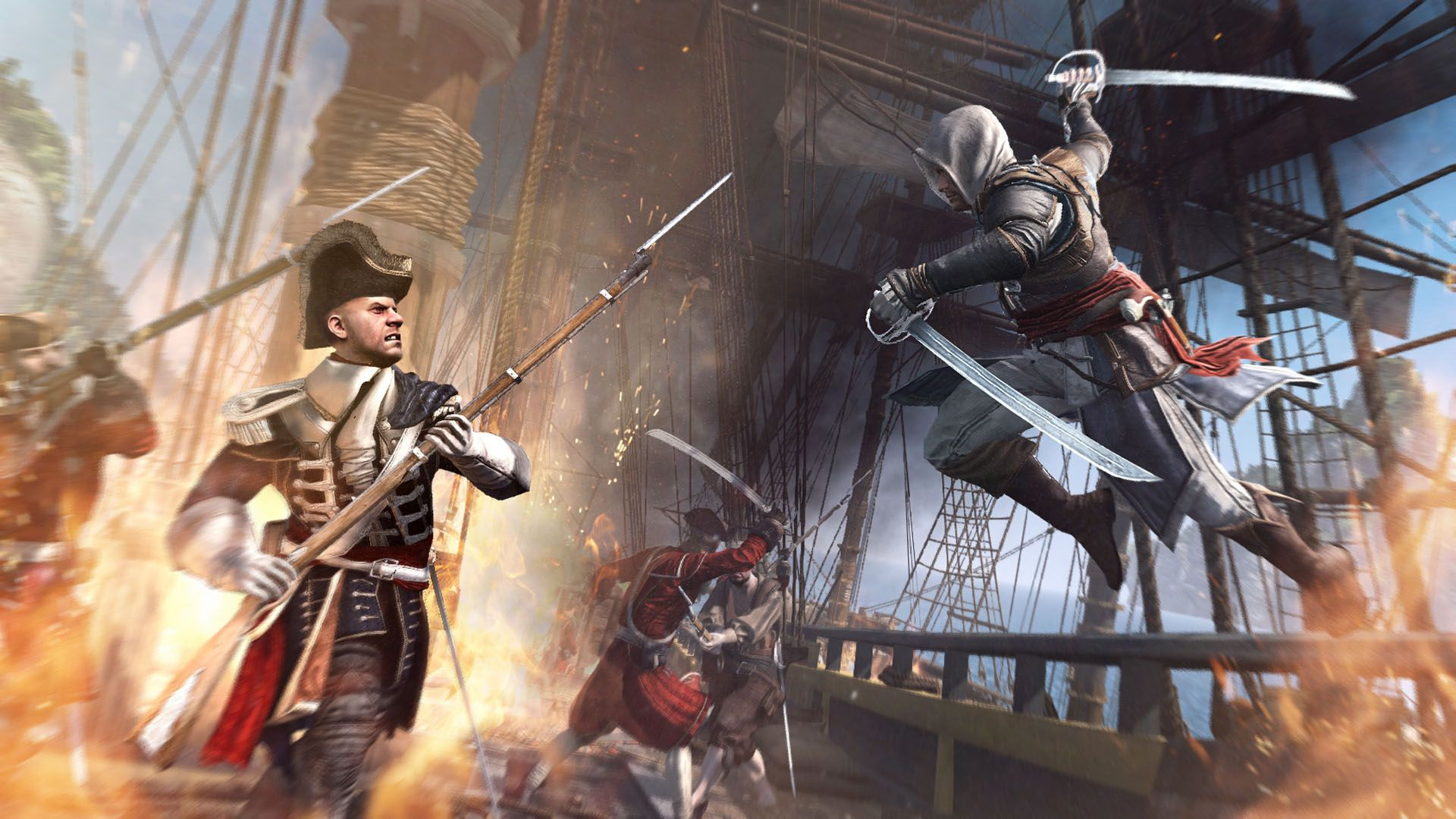 Assassins creed iv black flag hd wallpapers this wallpaper assassins creed iv black flag hd wallpapers this wallpaper voltagebd Image collections