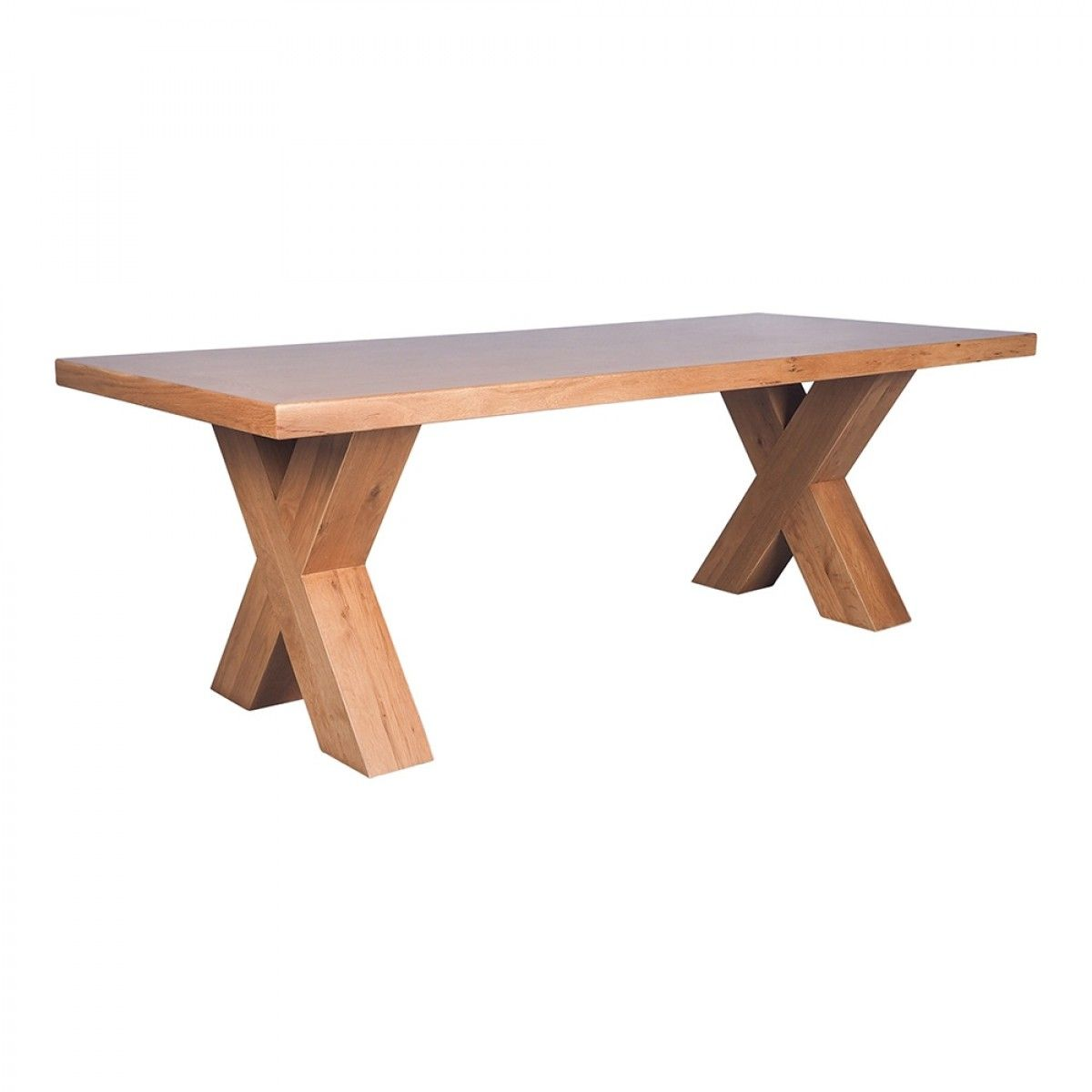 Oakdale Cross Leg Dining Table 2300 X 1000mm Tables Dining