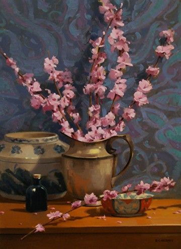 Spring Blossoms by Laurie Kersey Oil ~ 24 x 18