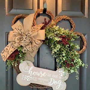 Photo of Barn wood frame wreath, all year round wreath, magnolia wreath, peasant wreath, farmhouse decor, bulrush wreath, coastal decor, square wreath