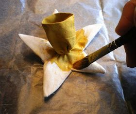 Country Quilts: Ever-blooming Daffodils--a tutorial