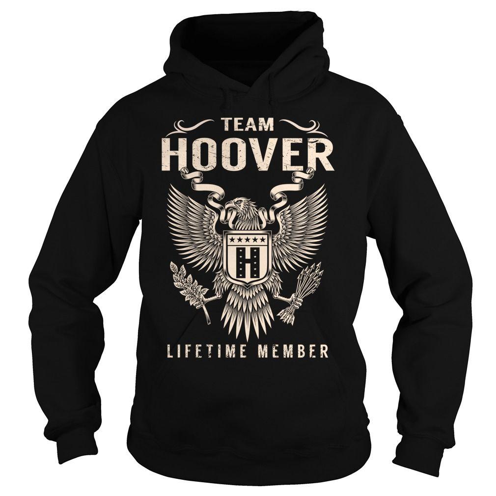 Team HOOVER Lifetime Member - Last Name, Surname T-Shirt