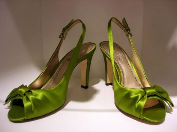 The Eco Friendly Green Wedding Shoes
