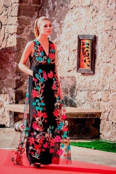 6c2e5ac44 María Vazquez – Vestidos de fiesta primavera verano 2016 ...
