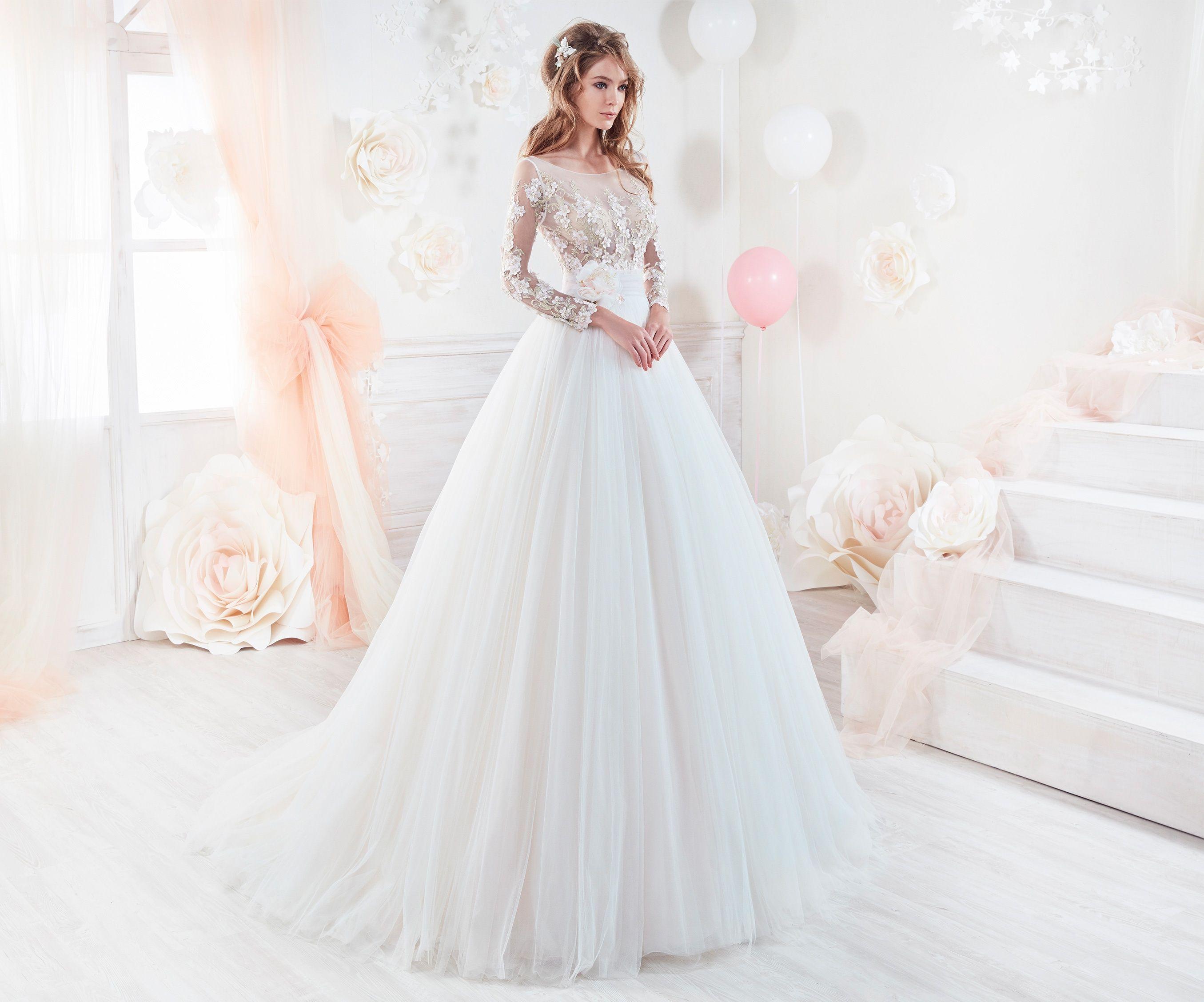 0881af23318a7 Moda sposa 2018 - Collezione COLET. COAB18232. Abito da sposa Nicole ...