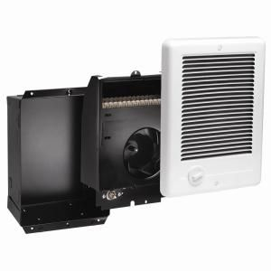Cadet Com Pak 1 500 Watt 240 Volt Fan Forced In Wall Electric Heater In White Csc152tw Electric Heater Wall Mounted Heater Heater