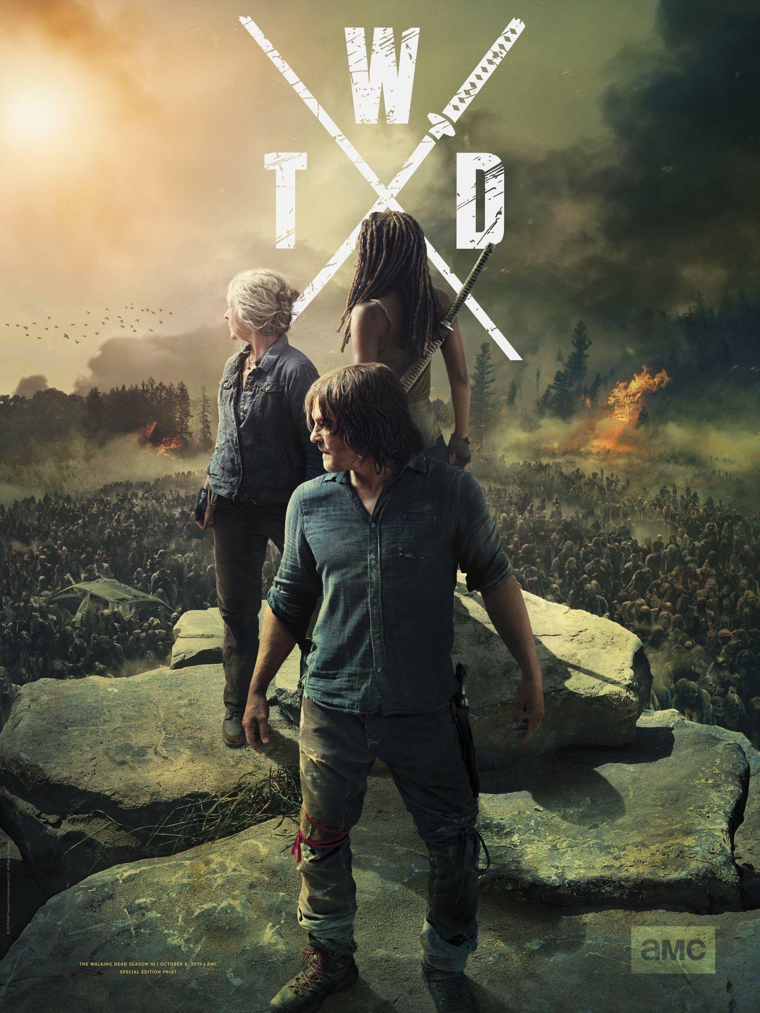 The Walking Dead Season 10 Poster The Walking Dead Poster Walking Dead Wallpaper The Walking Dead Merchandise