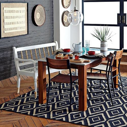 A Casual And Rustic Dining Room