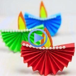 16 Diwali Crafts for Kids #diwalicraftsforkids 16 Diwali Crafts for Kids - Hobby... #kidsspri...