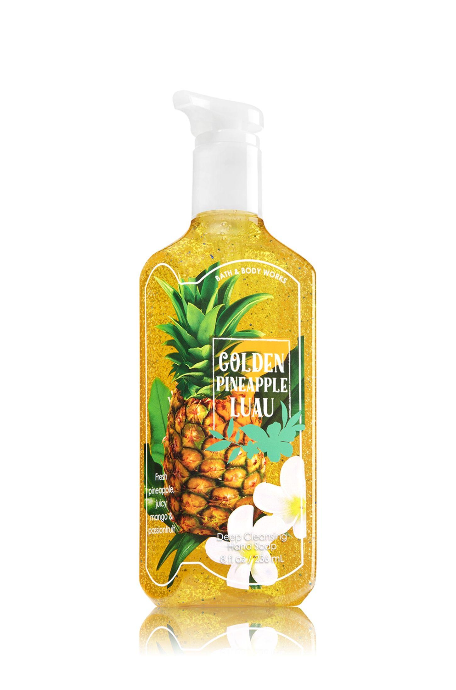Golden Pineapple Luau Deep Cleansing Soap Soap Sanitizer Bath
