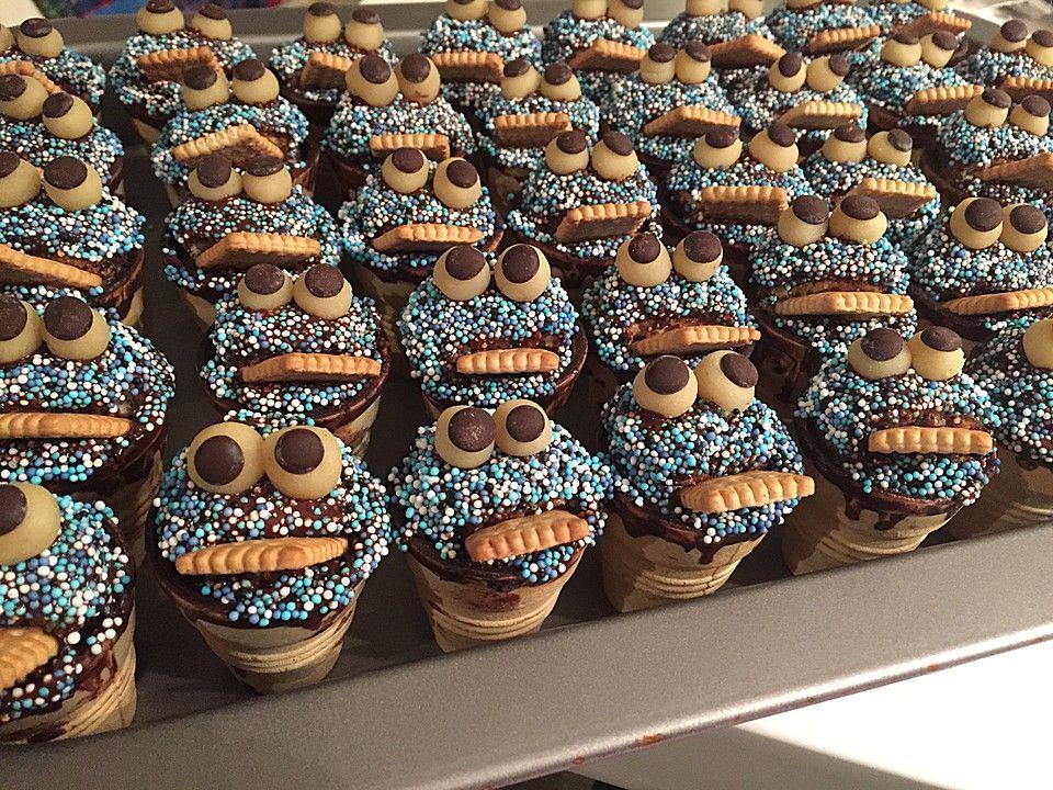 Kleine Kuchen im Waffelbecher  Rezepte fr Kids Party