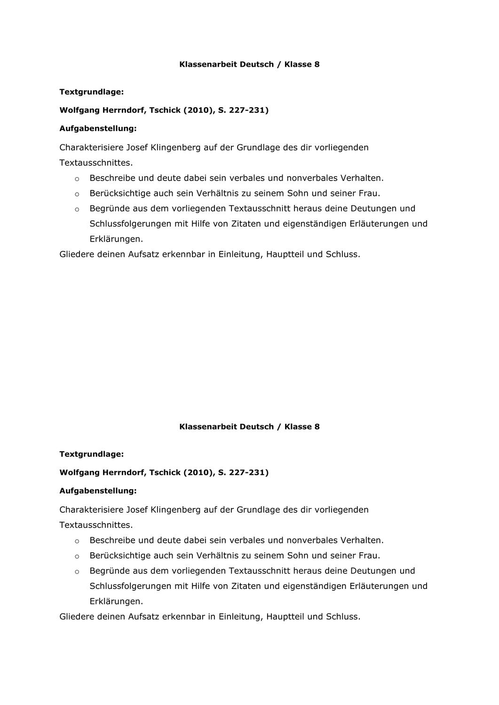 Jugendroman Klassenarbeit Deutsch Herrndorf Tschick Aufgaben Unterrichtsmaterial Im Fach Deutsch In 2020 Klassenarbeiten Erste Klasse Aufgabenstellung