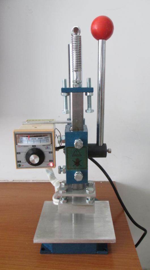 5x7cm Manual Stamping Machine Leather Printer Creasing