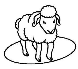 desenhos de ovelha para imprimir e colorir ovelinha animais