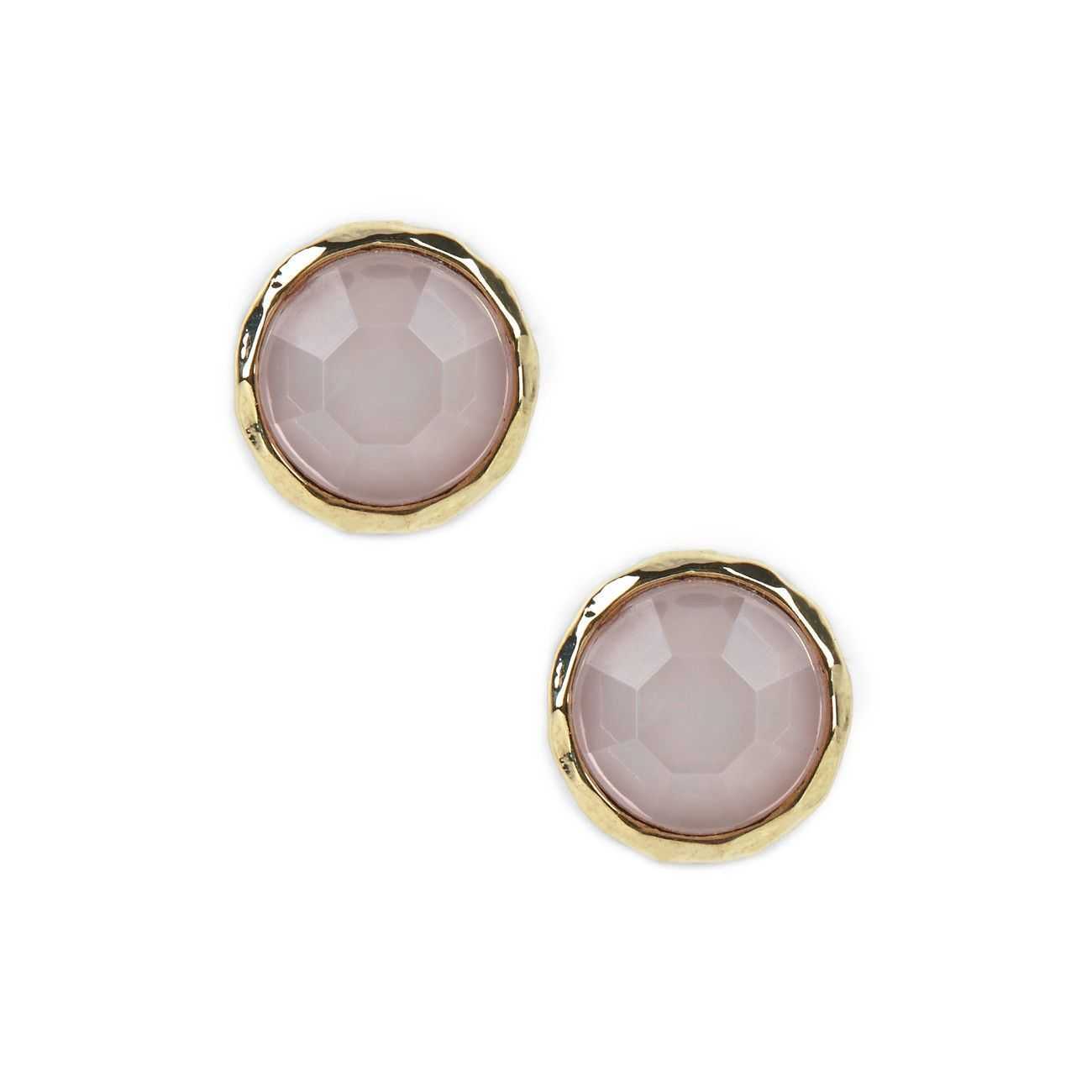 """Sole Society """"round stone stud earring"""", $19.95"""