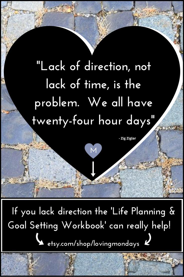 Goal Planner Life Planner Year Planner Printable Agenda Resume Daily