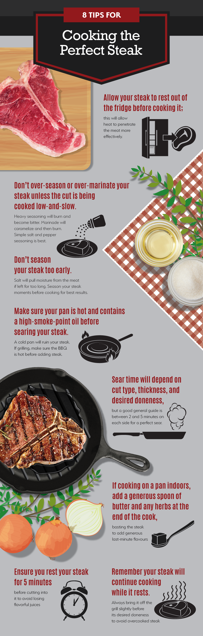 How to Cook Steak - 8 Tips for Cooking Steak